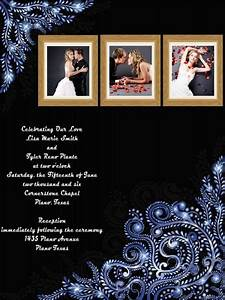 Wedding invitation card add on templates download free for Wedding invitation collage maker