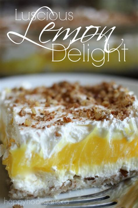 easy to prepare desserts lemon delight an easy to make dessert