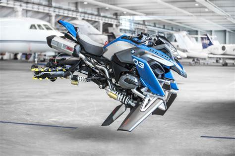 bmw bike concept bmw s r1200gs hover bike concept visordown