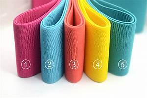 "3"" 75mm Wide Solid Colored Heavy Duty Waistband Elastic by ..."