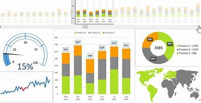 Dashboard Report Excel Quantity Structure Templates Analyzing