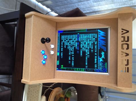 Diy Mame Cabinet Plans by Diy Arcade Cabinet