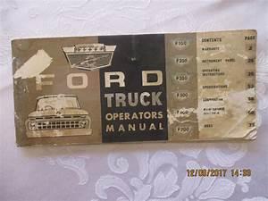 Ford Australia 1965 F100-f700 Owner Manual