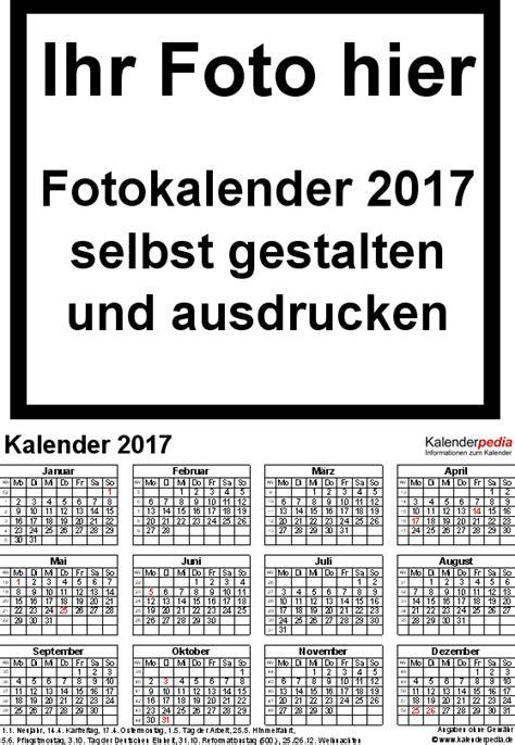 fotokalender als word vorlagen zum ausdrucken