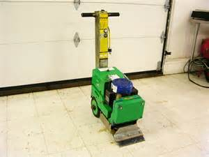 blastrac bs110 self propelled electric floor scraper tile