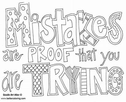 Mindset Growth Coloring Pages Printable Adults