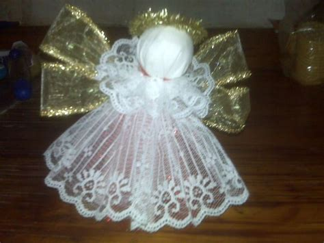 ribbon lace  tulle angelmaybe      tree