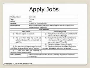 Online Job Portal  Uml Diagrams