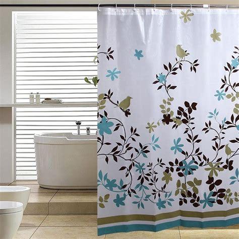 peva shower curtain peva leaves waterproof thicken shower curtain bath curtain