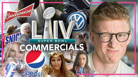 Reacting To The Worst And Best Super Bowl Commercials Youtube
