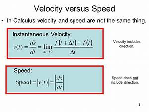 3.4 Velocity & Other Rates of Change - ppt download