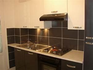 Faience Pour Cuisine : d coration cuisine avec faience ~ Premium-room.com Idées de Décoration