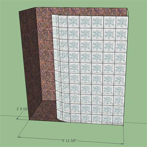Glass Shower Doors Houston by Doorless Shower Designs With Glass Block Glass Block