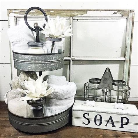 Modern Rustic Bathroom Accessories by 25 Best Ideas About Farmhouse Bathrooms On