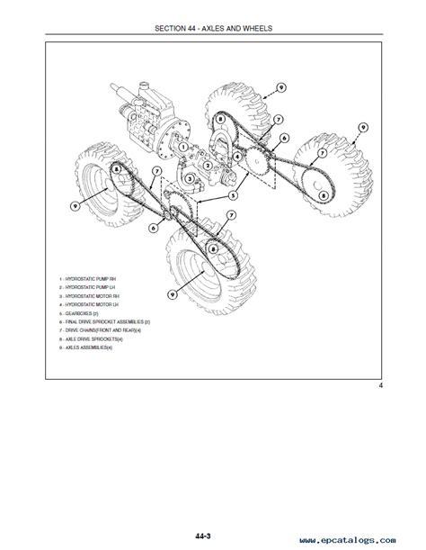 holland   loaders repair manual