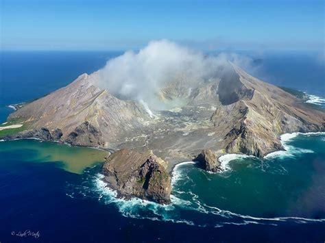 whakaari white island  active volcano   zealand