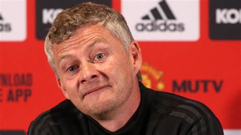 Manchester United coach Ole Gunnar Solskjaer not expecting ...