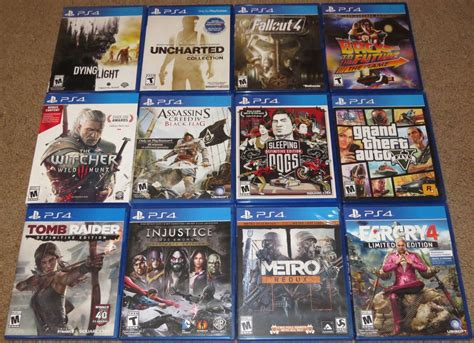 Playstation 4 Game Collection 031616 By Malidicus On
