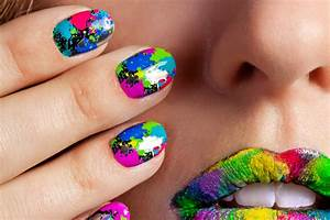 impressive and simple diy nail design ideas