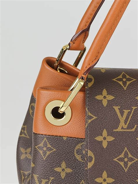 louis vuitton monogram canvas camel olympe bag yoogis closet