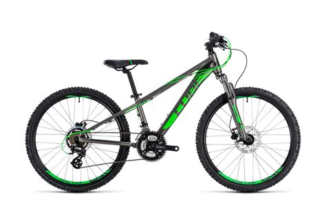 cube fahrrad kinder cube kid 240 disc 24 kinder fahrrad grau gr 252 n 2018