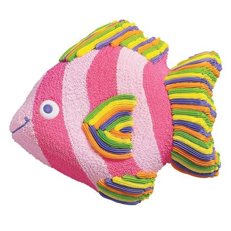wilton tropical fish novelty cake pantin