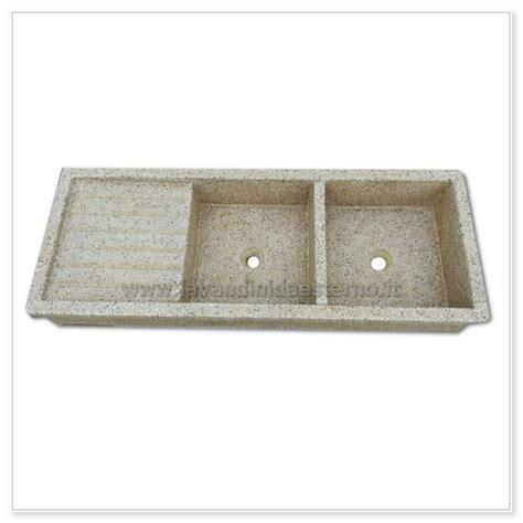 lavelli graniglia lavello cucina acquaio in graniglia levigata 67 doppia vasca
