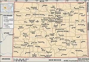 Colorado: cities -- Kids Encyclopedia | Children's ...