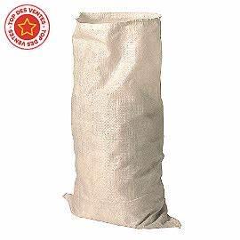 Sac A Gravat : 3 sacs grav t en toile tiss e blanche castorama ~ Edinachiropracticcenter.com Idées de Décoration