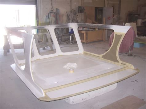 How To Make A Hardtop For A Boat by Z Glassing Fiberglass Boat Repair Restoration