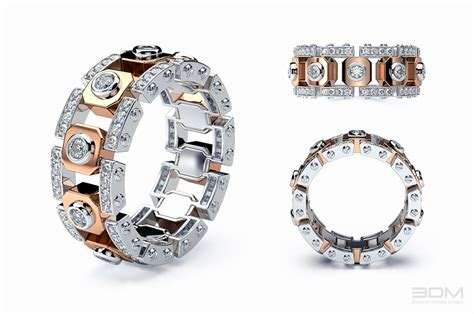 luxury collection of mens wedding bands design and development