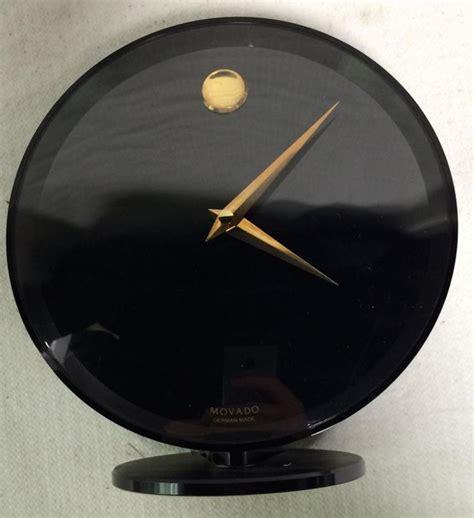 Movado Miniature Desk Clock by Movado Desk Clock