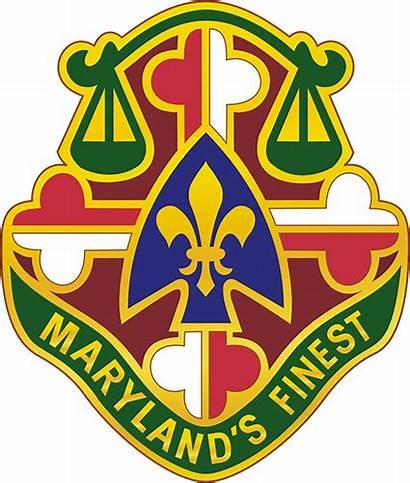 Unit Insignia Military Mp Distinctive Maryland Battalion