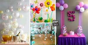 decorer avec des ballons pour un anniversaire 20 idees With salle de bain design avec décoration anniversaire de mariage 20 ans