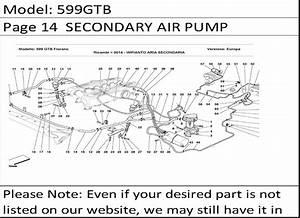 Buy Ferrari Part   184363 Air Injection Solenoid Valve