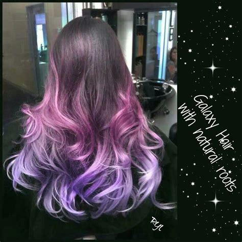 25 Best Images About Galaxy Hair On Pinterest Purple