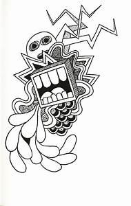 Drawings On The Fridge