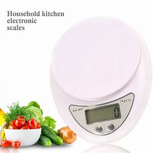 LCD Electronic Scales 5kg/1g Digital Scale Steelyard ...
