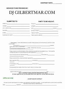 dj contract template non compete agreement With mobile dj contract template