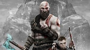 Kratos And Atreus God Of War 4 4k 2018, HD Games, 4k ...