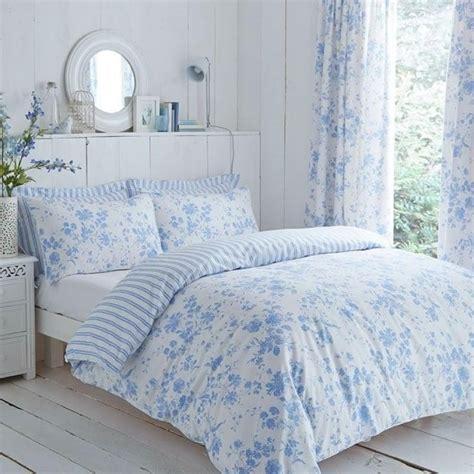 Blue Floral Toile Duvet Cover Set  Charlotte Thomas