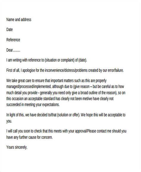complaint letter formats    premium