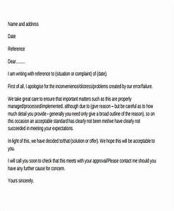 26 complaint letter formats free premium templates With customer response letter templates