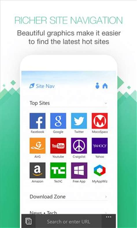 uc browser 4 has a new user interface and optimization for 1080p screens