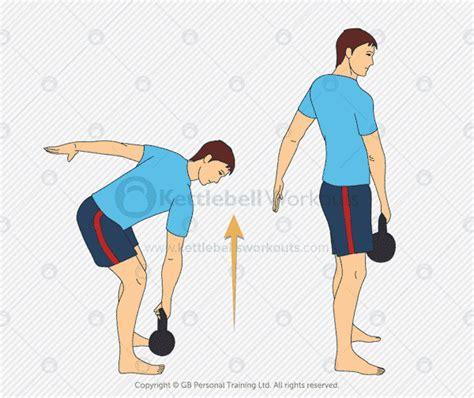 kettlebell deadlift arm single exercises muscle build muscles
