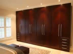 simple traditional wardrobe brown wooden design ideas