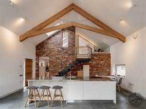 timber frame home interiors green oak extension shortlisted for build it awards