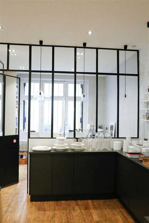 verriere de cuisine une verrière intérieure pour cloisonner l 39 espace avec style