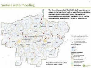 Flood risks in London