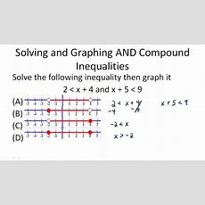Solutions To Compound Inequalities  Ck12 Foundation
